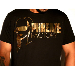 PF Mirror Gold Tee-L-Black