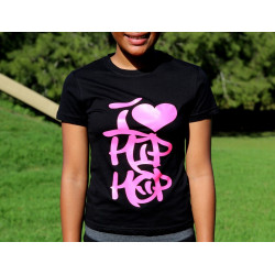 PFC Tee - I Heart Hiphop