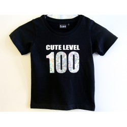 Cute Level 100 Holograph Tee (Kids)