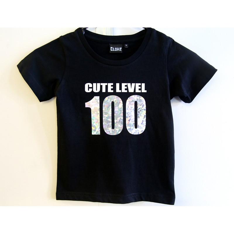 Cute Level 100 Holograph Tee (Kids)