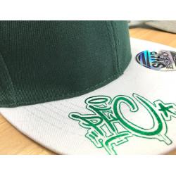 PFC Drip Metallic Green 2-Tone Snapback