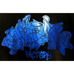 PFC Metallic Blue BOMB Contrast Hood