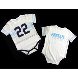 PFC Baby Blue 22 Sport Onesie