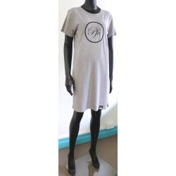 PFC Hollow Organic Short Sleeve Dress