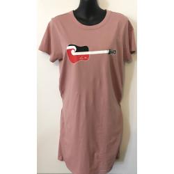 Tino Rangatiratanga FHC Guitar Short Sleeve Organic Dress