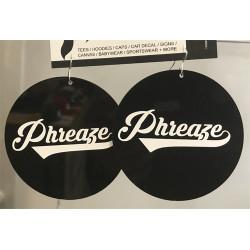 Phreaze Bball Earrings
