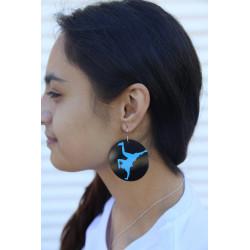 BBoy Silhouette Earrings