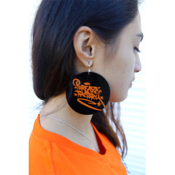 Phreaze Factory Tag Earrings